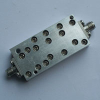 8-18GHz Suspended Stripline Band Pass Filter