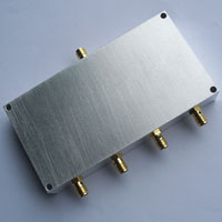 300-400MHz 4 Way Power Divider