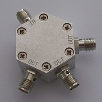 DC-6.0GHz_3 Way Resistance Power Divider