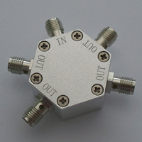 DC-6.0GHz_4 Way Resistance Power Divider