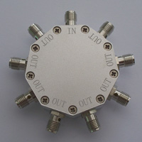 DC-6GHz_8 Way Resistance Power Divider
