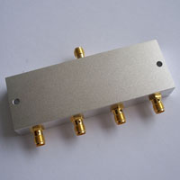 1-50MHz_4 Way LC Power Divider