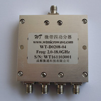 2-18GHz_4 Way Power Divider