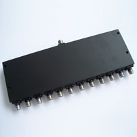 9.9-10.1GHz 12 Way Power Divider