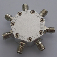 DC-6.0GHz_6 Way Resistance Power Divider