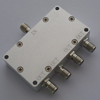 DC-6GHz_4 Way Resistive Power Divider