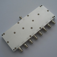 DC-6GHz_8 Way Resistive Power Divider