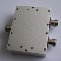 225-512MHz 2 Way Power Divider