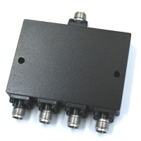 15-40GHz 4 Way Power Divider